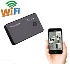Wifi Power Bank Camera