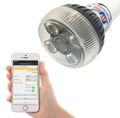 Wifi Lamp Camera