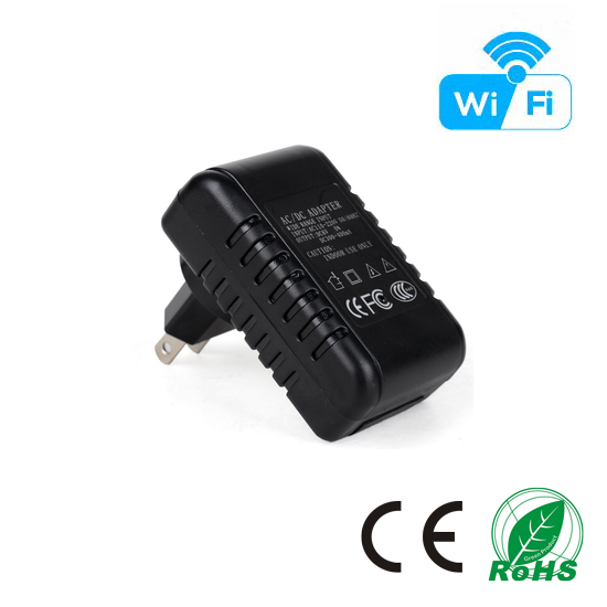 HD 1080P AC Adaptor Wi-Fi Camera