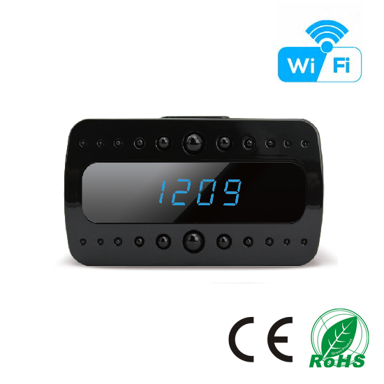 HD 1080P IR Table Clock Wi-Fi Camera (Wi-Fi Version)