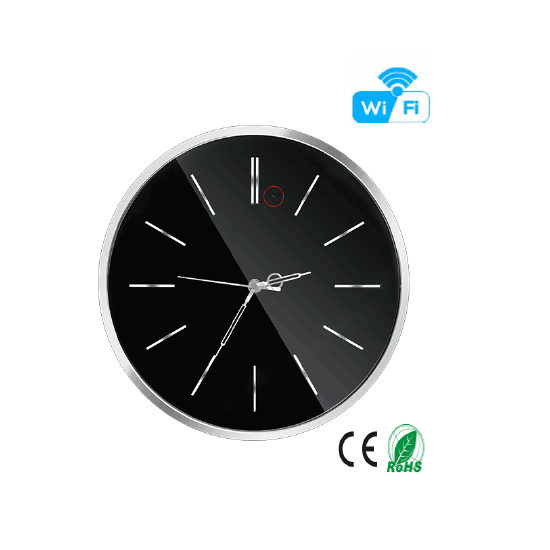 HD 1080P Wall Clock Security Wi-Fi Camera