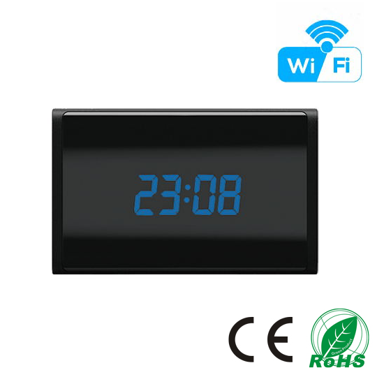 HD 1080P Table Clock Wi-Fi Camera (Wi-Fi Version)