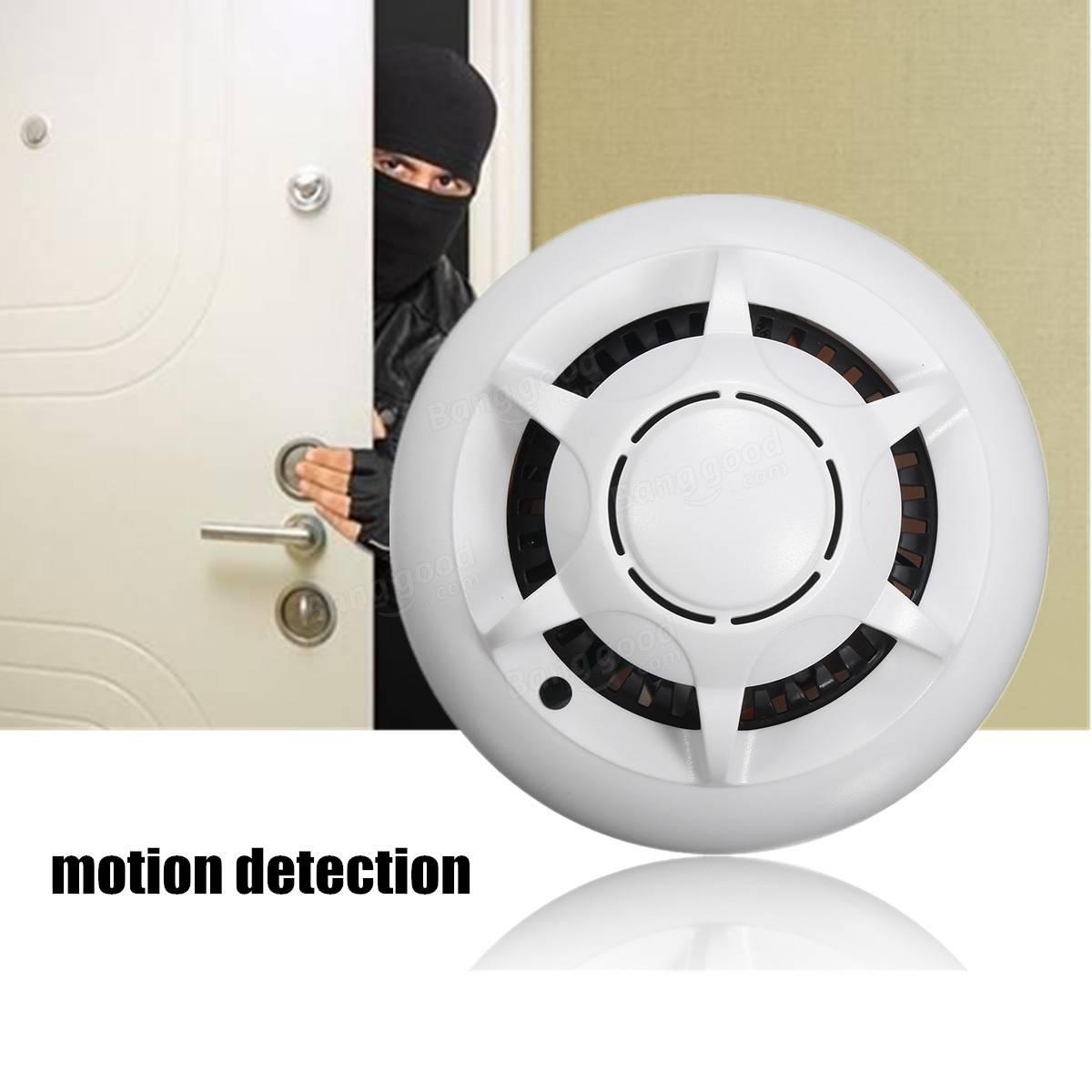 Wifi Smoke Detector Camera
